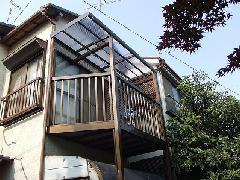 東京都江戸川区 一戸建てバルコニー・デッキ工事