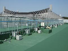 東京都渋谷区 大型施設屋上 手すり工事