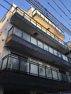 東京都 北区 東十条デザインマンション アルミ笠木・手すり工事