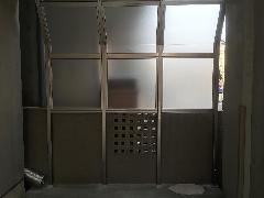 板橋区西台 防風スクリーン取り付け工事