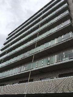 宮城県 仙台市 新築マンション工事に伴う手すり工事