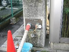 東京都内 連結送水管耐圧試験