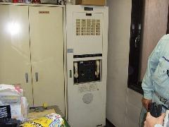 東京都 中央区某ビルにて自動火災報知設備受信機交換工事実施