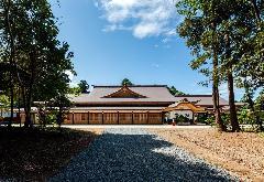 鹿島神宮 祈祷殿