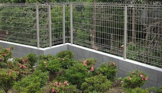 フェンスの施行例