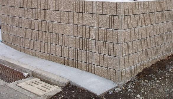 ブロック塀の施工例