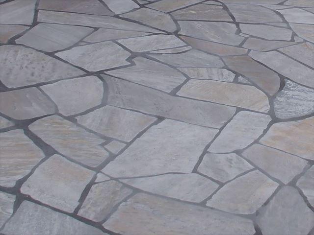 石貼の施工例