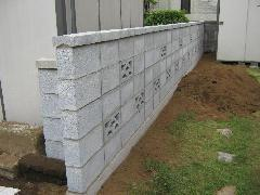 ブロック工事
