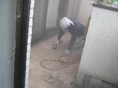 ベランダFRP防水工事