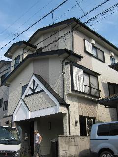 埼玉 外壁塗装工事完成
