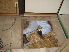 H24年 5月 みそら 床下チップ工事