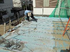 屋根工事 H25 四街道