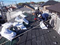 H29 千葉市 コロニアル屋根工事