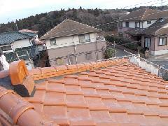 H30 四街道市みそら 屋根漆喰工事