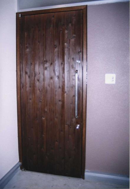 店舗 入り口ドア(愛知県一宮市)ピポットヒンジ 玄関ドア
