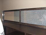 ガラス戸(愛知県名古屋市)和紙ガラス、店舗リフォ−ム