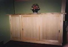 一般住宅 収納の製作(愛知県一宮市)下駄箱ドア(建具)