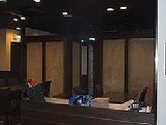 框ドア(建具)愛知県名古屋市の店舗、個室に間仕切り