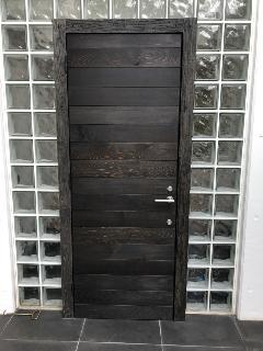 愛知県一宮市 木製玄関建具