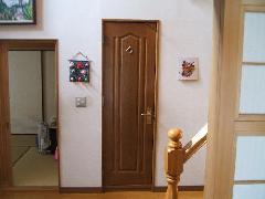 木製トイレ用ドア