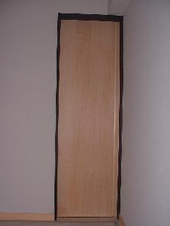 木製デザイン引き戸