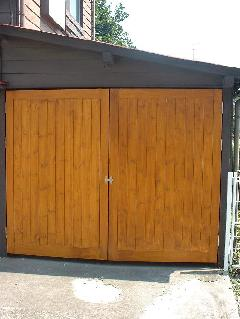 木製 車庫用扉