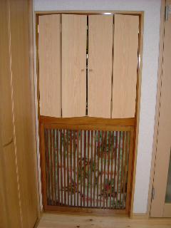 仏壇扉 4枚折れ戸