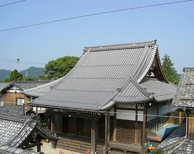 瓦葺き替え工事 (光寿山帰命寺)