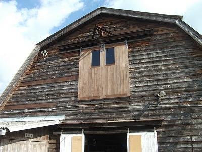 牛舎外壁〔施工完了〕
