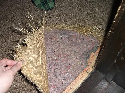 現況:床カーペット