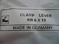 イマオ クランプレバー KR6X15