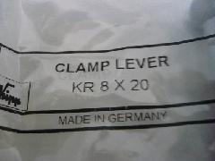 イマオ クランプレバー KR8X20