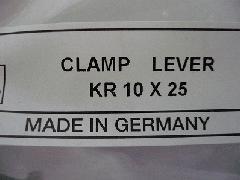 イマオ クランプレバー KR10X25