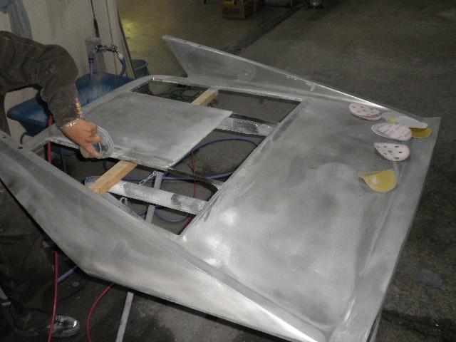 フェラーリ328GTB キズ修理