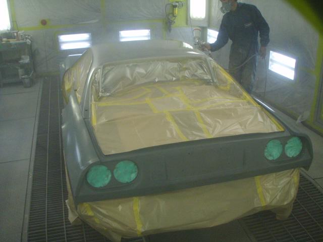 フェラーリ328GTB 下地処理