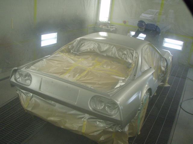 フェラーリ328GTB キズへこみ修理