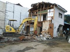東京都青梅市裏宿町 家屋解体