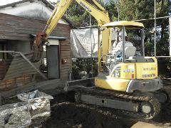 東京都青梅市 家屋解体工事