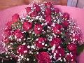 30本バラ花束