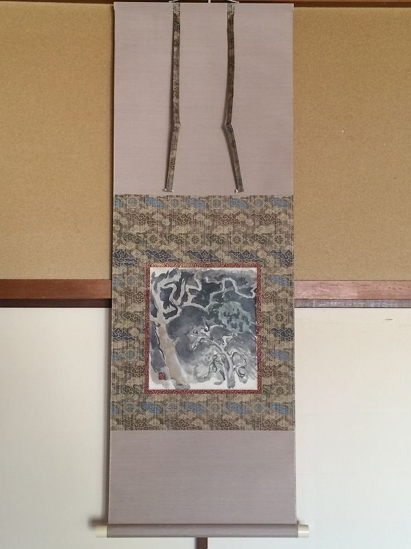 須田国太郎「樹木」