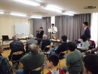 兵庫県豊岡市での講演の様子