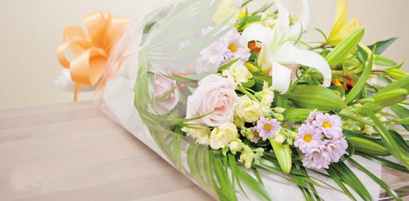 花束&献花
