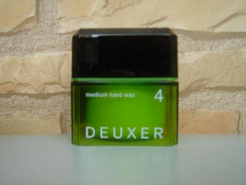 ナンバースリー DEUXER(デューサー) ミディアムハードワックス4 80g