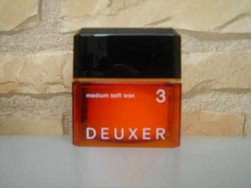 ナンバースリー DEUXER(デューサー) ミディアムソフトワックス3 80g