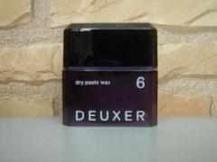 ナンバースリー DEUXER(デューサー) ドライペーストワックス6 80g
