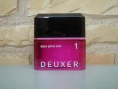ナンバースリー DEUXER(デューサー) アクアグロスワックス1 80g