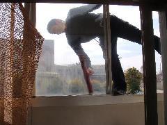 事務所ビル 定期清掃 ガラス清掃