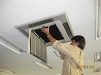 空調設備の洗浄