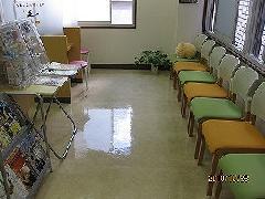 中央区銀座 薬局の床洗浄・ワックス塗布