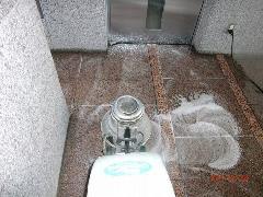 熊谷市 ビル共用廊下掃除